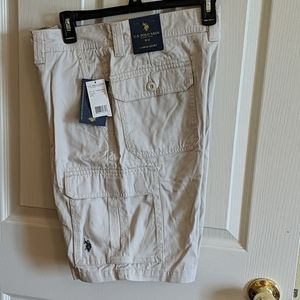 US Polo Assn. Cargo shorts NWT